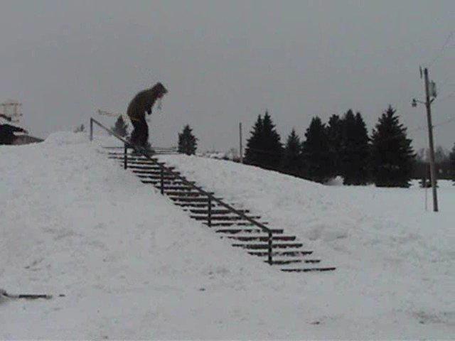 22 step rail