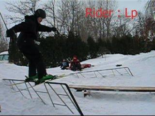 My backyard setup rail 3