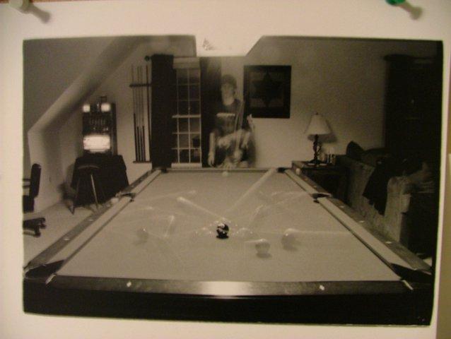 Pool Break Shot for photo class
