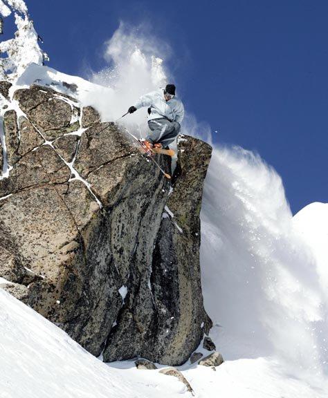 granite peak cliff