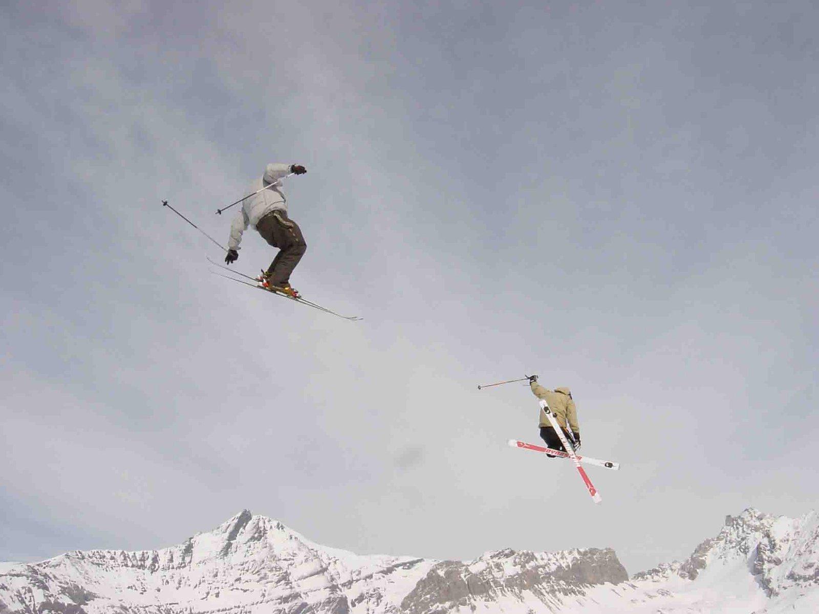 nice follow jumping...