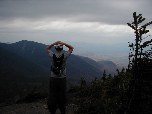 on top of Mt. Colden