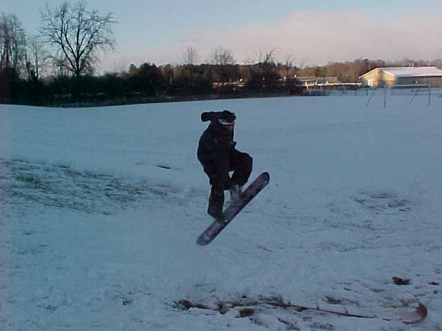 some sweet air on a fake board