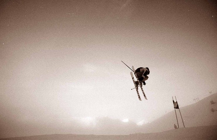 Skiercross table