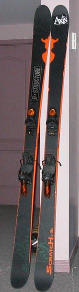 Black/Orange Scratch BC