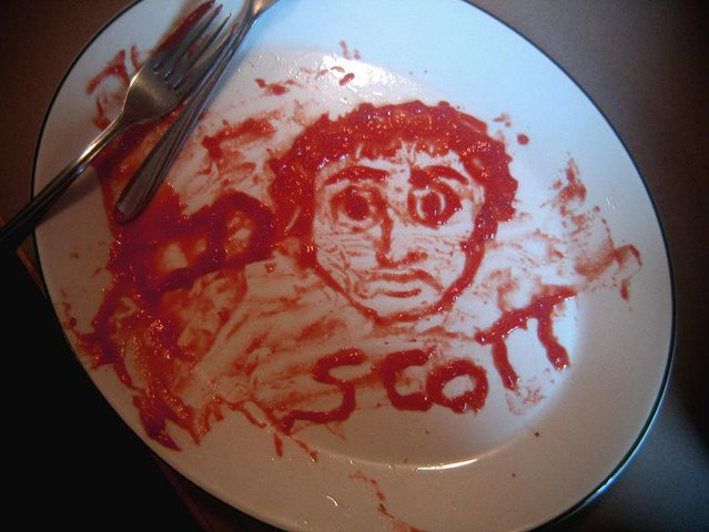 ketchup portrait by kylie