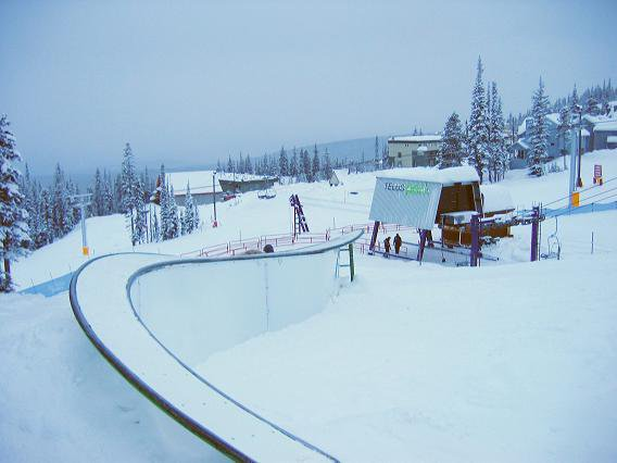 Roller coaster S box at Big white