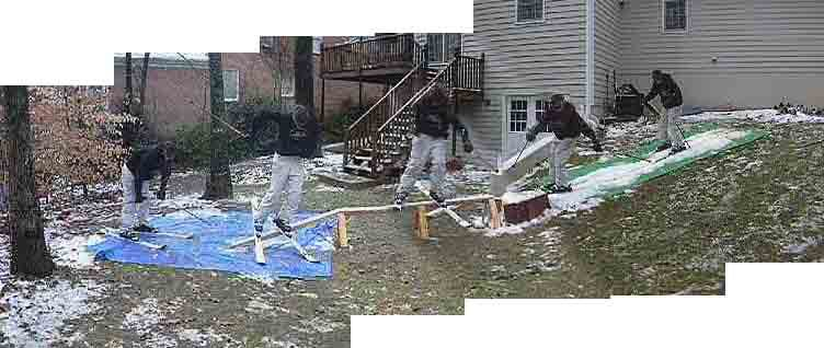 """Sorry about bad quality, this is """"snow"""" from the ice storm we had"""
