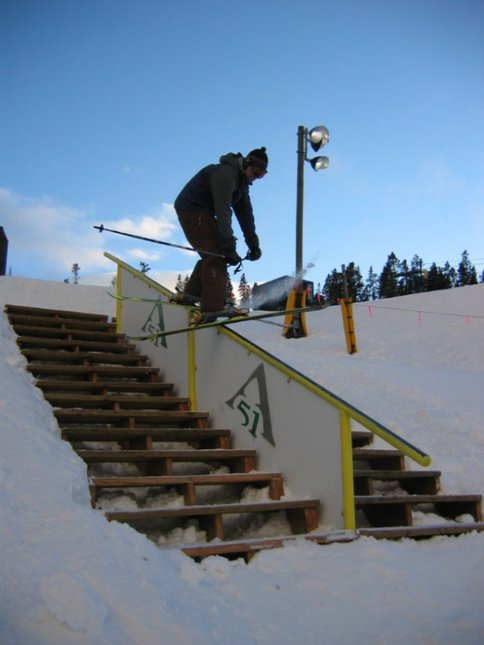 """urban"" stair at Keystone"
