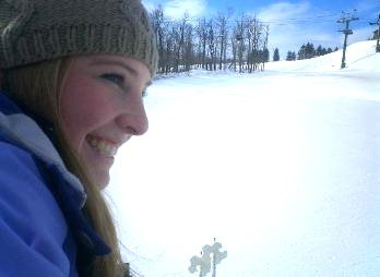 skiing = happiness