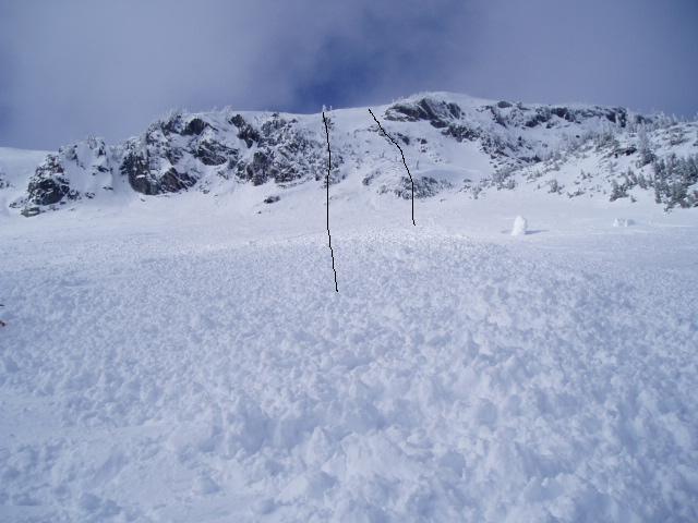Crockrock avalanche