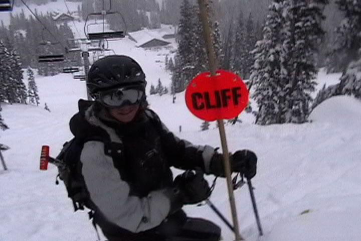 we loves cliffs!!!