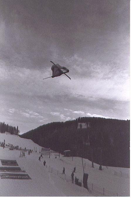pictures from slopestyle at the open