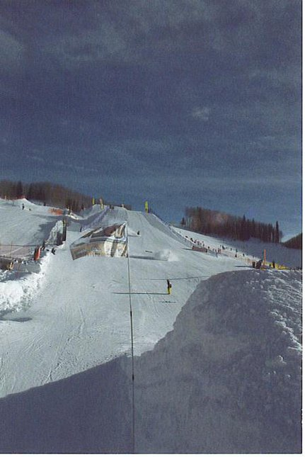 slopestyle, after jacob fell