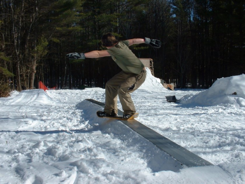 30 ft snowskate jib