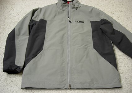 OAKLEY Jacket For Sale - Medium - light grey/drk grey