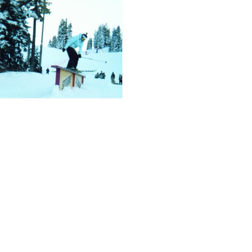 Me on a small rail