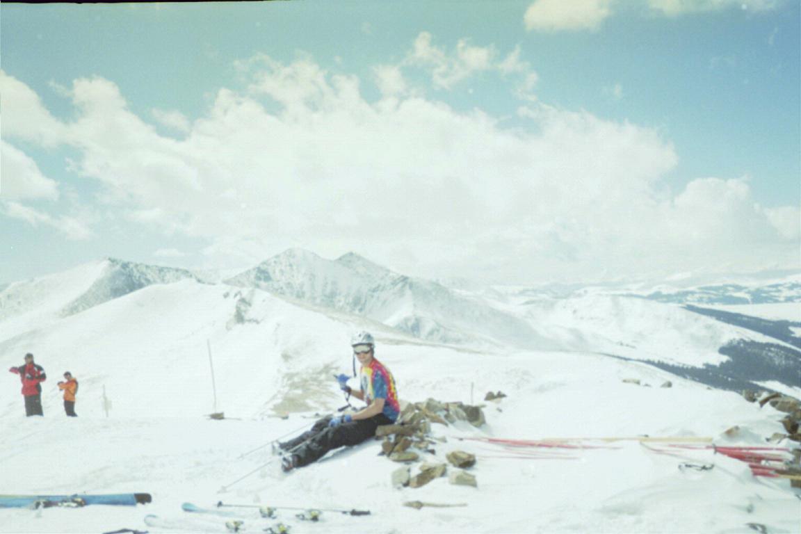 Breck - Peak 8 summit