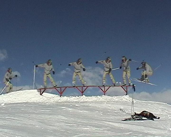 'on top of the world' sequence