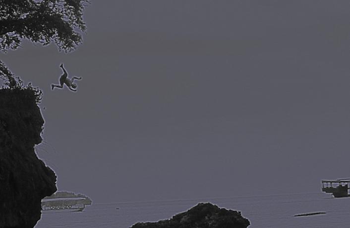 Spideyflip off little cliff