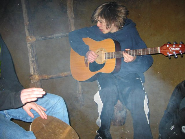 """Rocking Out In """"The Hut"""""""