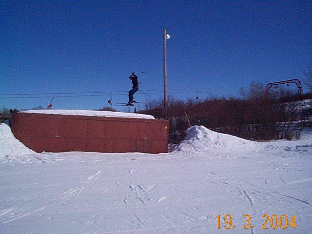 This is the best jump in Saskatchewan!