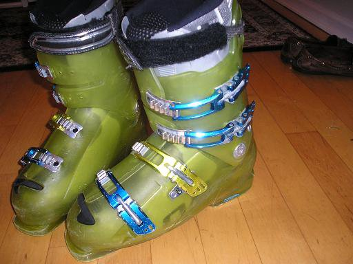 Selling ski boots $150 used --- 4