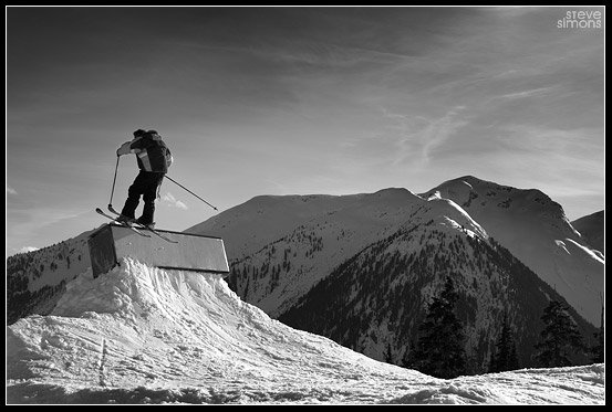 Wall Stall in B&W