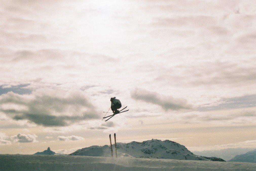 3grab over skis Whistler