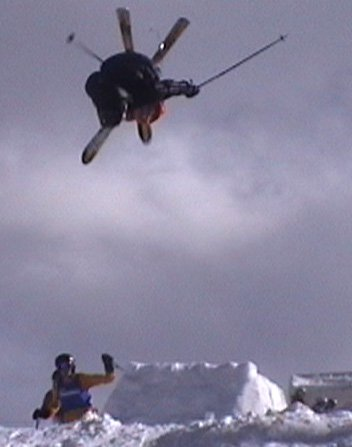 backflip en mogul