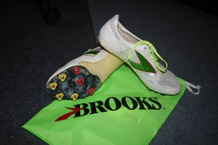 Brooks Prismec -SRII (the soles are shark skin)