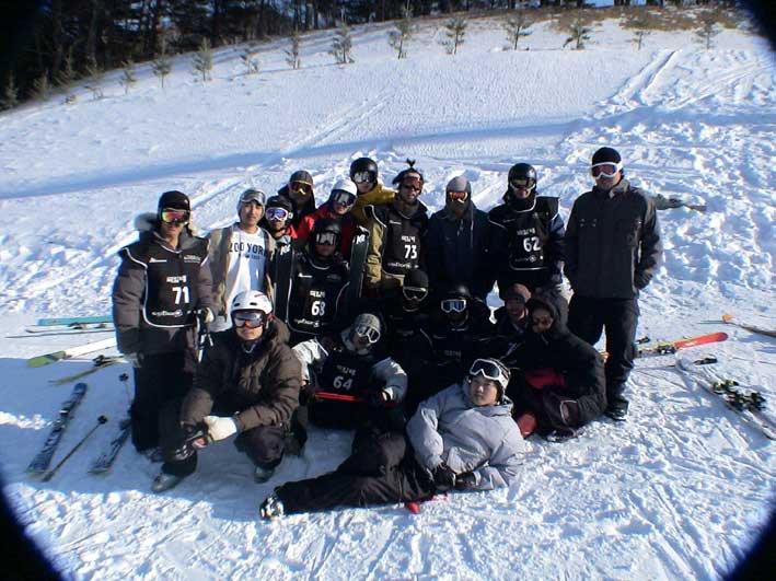 korean skierS