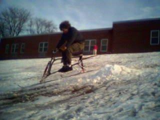 MAD AIR jk on a SNO bike