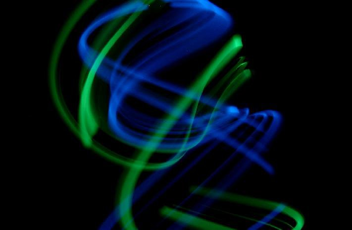 GlowSticks Dipped N XTC  colors:blue and green