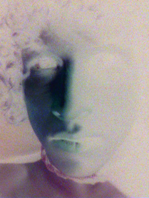 Triiiiipy simple negative of me face