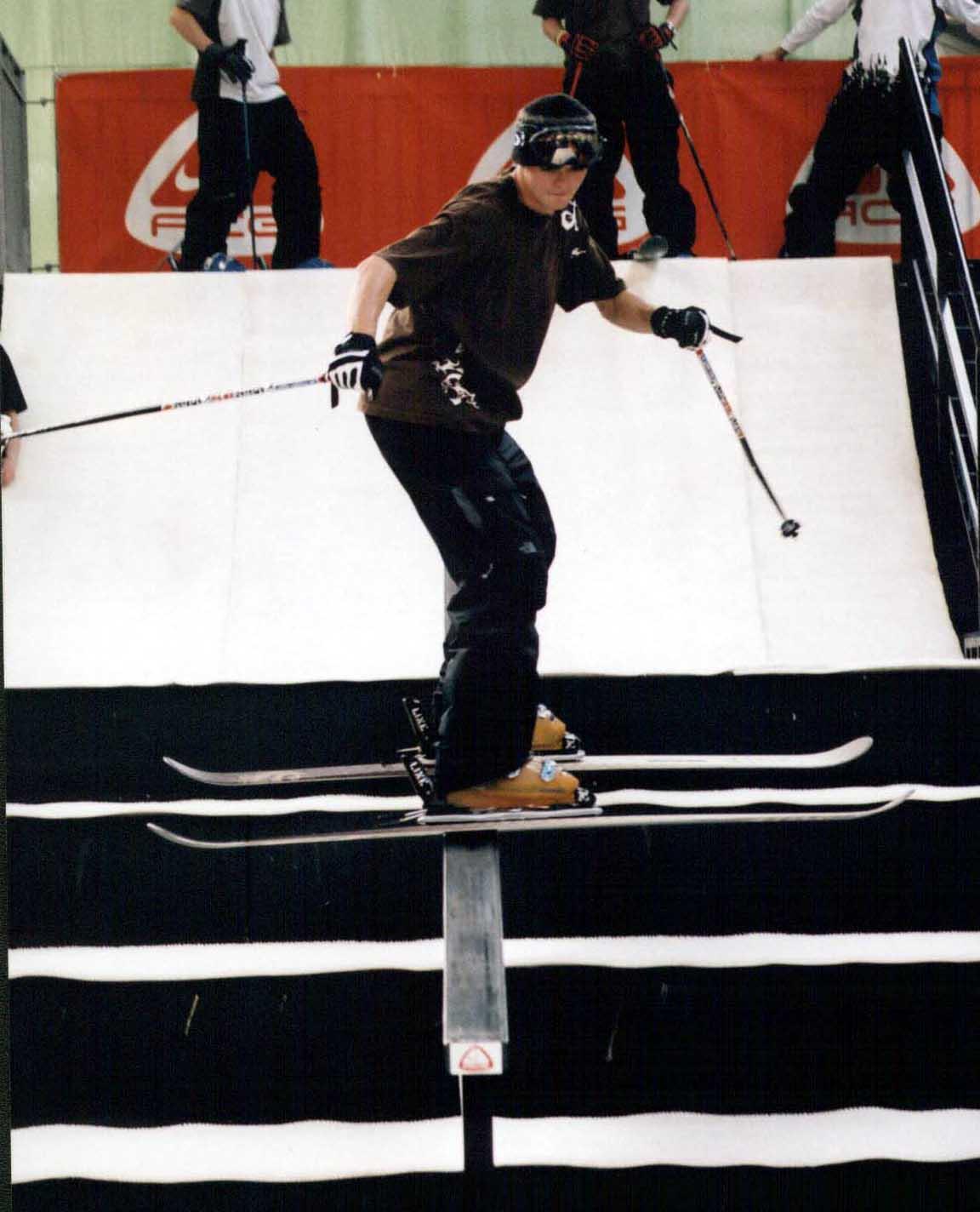 Nike ACG rail jam, London Ski Show 04