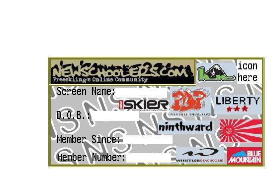 NS member card sample