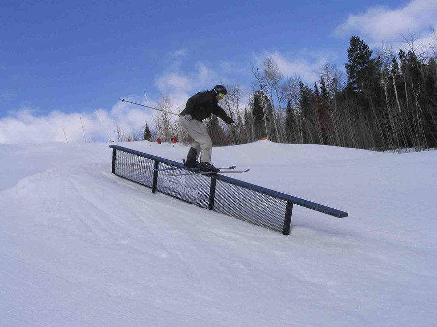 down rail at steamboat