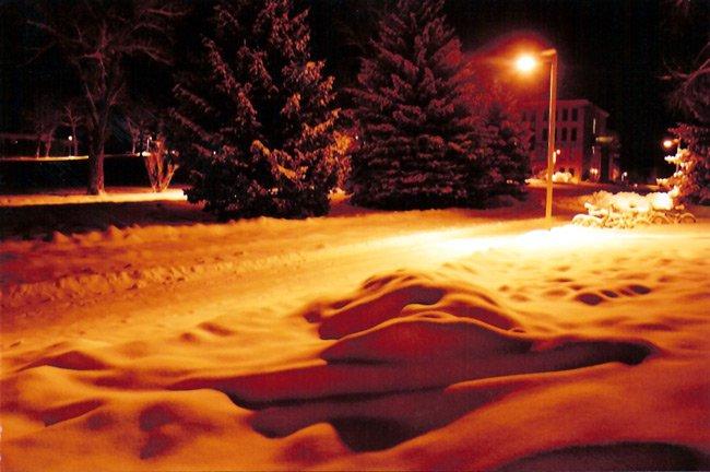 Western State College snowscape
