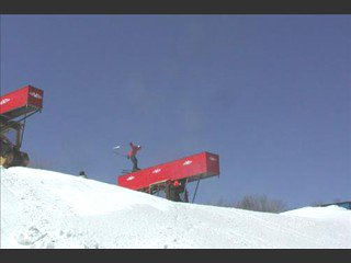 Me just getting on the Bulldozer Box