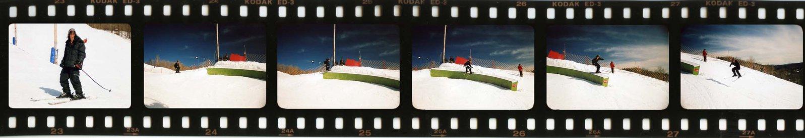 good seq, bad skiing.