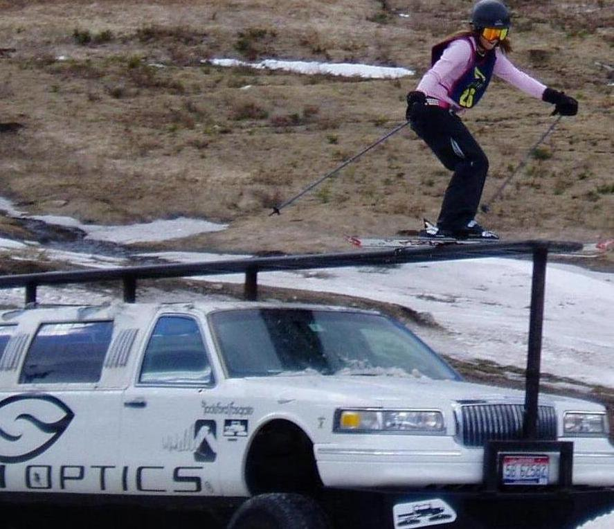 Me on the Smith limo during last rail jam