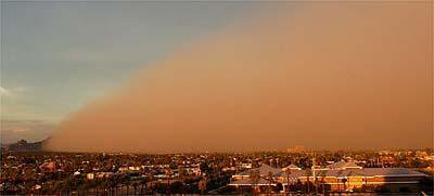 dust storm last summer