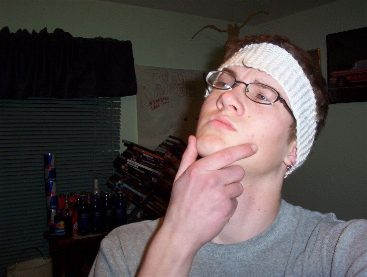 PIMP!(First Knitted Headband)