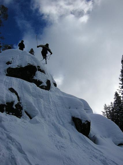 cliff tip grab