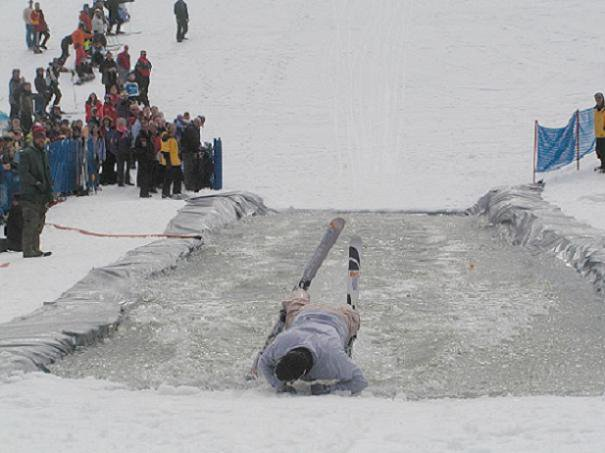 Pond skimming #2