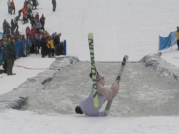 Pond skimming #3
