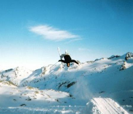 Back Flip in Blackcomb Backcountry