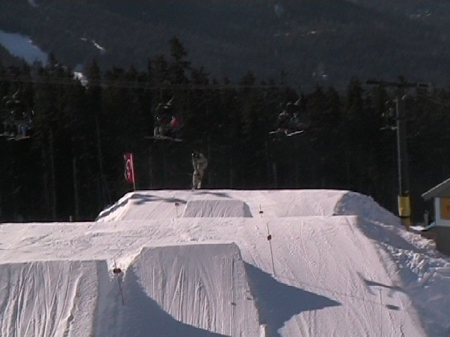 360 on Whistler Shack Booter