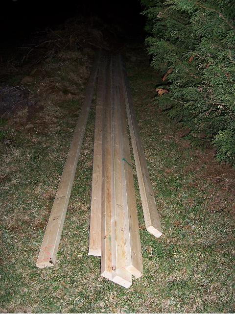 stolen wood used for new box down there vvvvvvv